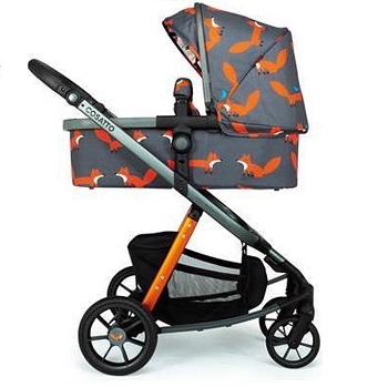 Cosatto Giggle Quad Charcoal Mister Fox